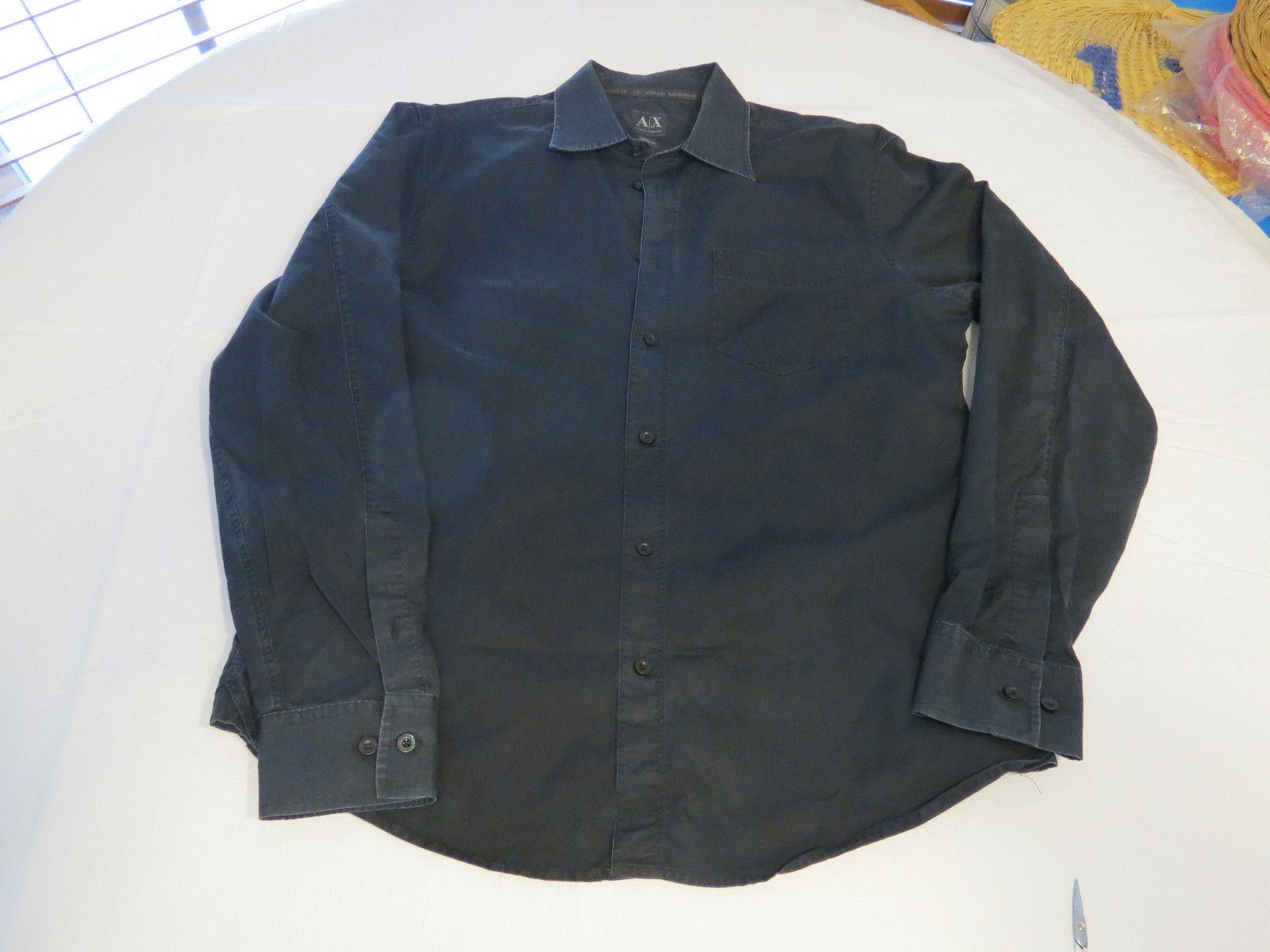 5c759106 Mens AX Armani Exchange cotton shirt button and 50 similar items. 57