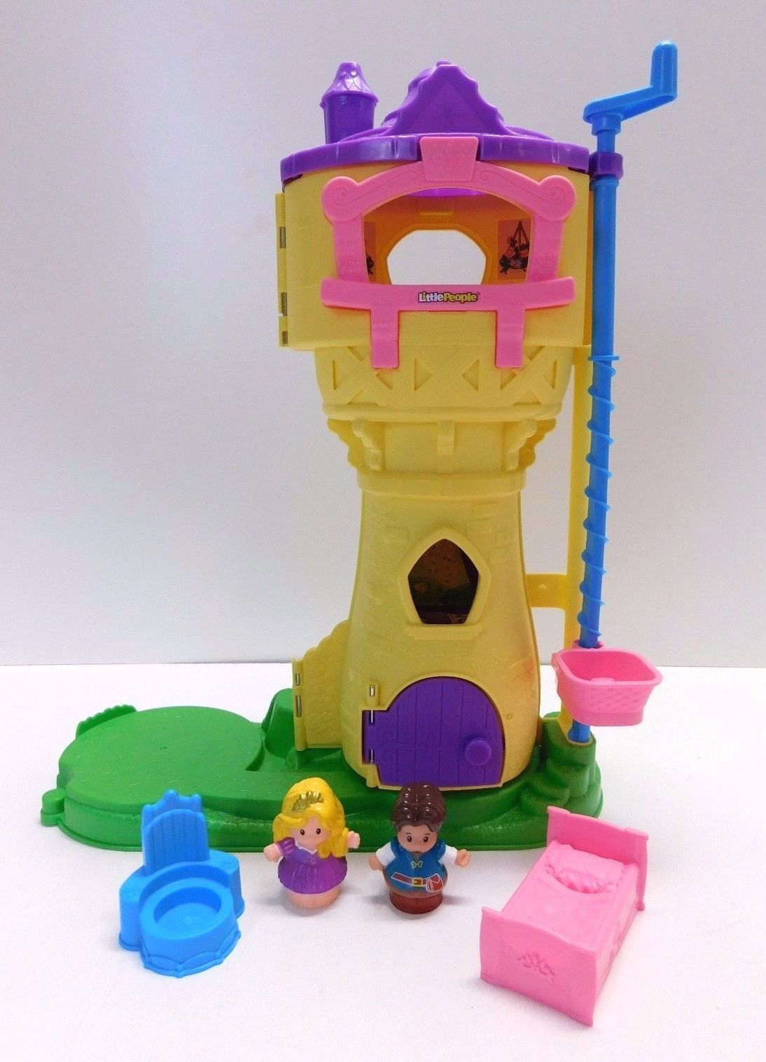 Fisher Price Little People Disney Princess Rapunzel`s Tower Castle