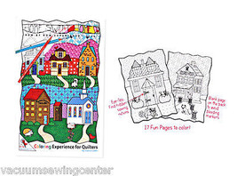 Home Sweet Home Coloring Book Row By Row Experience 2016 - $8.50