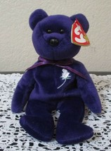 Ty Beanie Baby Princess  Gasport Hang Tag Error 1997 CREASED TAG - $12.86