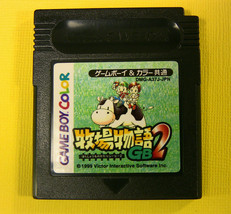 Harvest Moon GB 2 (Bokujou Monogatari) (Nintendo Game Boy Color, 1999)  ... - $4.47