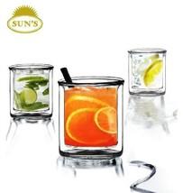Glassware Suns Tea TM 9 oz Strong Double Wall M... - $26.82