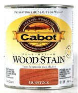1 Can Cabot 32 Oz Penetrating Wood Stain 8139 Gunstock Colorfast Fade Re... - $24.99