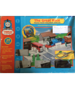 Thomas & Friends The Great Race Battery Operated Train Set Plus 2 Extra ... - $24.95