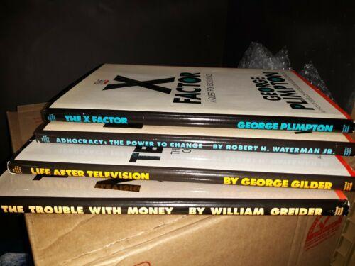 Lot of 4 The Larger Agenda Series Books hardback