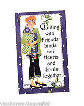 Quilting With Friends Hope Magnet - $8.50