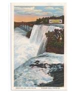 Niagara Wall Papers Co NY Plant Luna Falls Curteich Advertising Postcard - $6.99