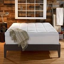 Sleep Innovations 4Inch Dual Layer Mattress Topper Gel Memory Foam and Q... - $242.53