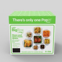 Food Storage Container Popit Little Big Box Plastic Set 8 Pack A Popit! - £23.45 GBP