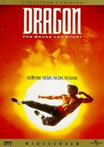 Dragon: The Bruce Lee Story (DVD, 1993, Collector's Edition Widescreen)