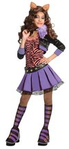 Monster High Deluxe Clawdeen Wolf Costume - Small - $35.73
