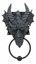 Ebros Ancient Horned Dragon Head Door Knocker Myths And Legends Dungeons... - $24.74