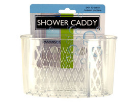 Transparent Shower Caddy with Suction Cups - $5.38