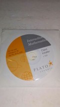 RARE Plato Interactive Mathematics Client Installer CD - Scratch Free Di... - $35.89