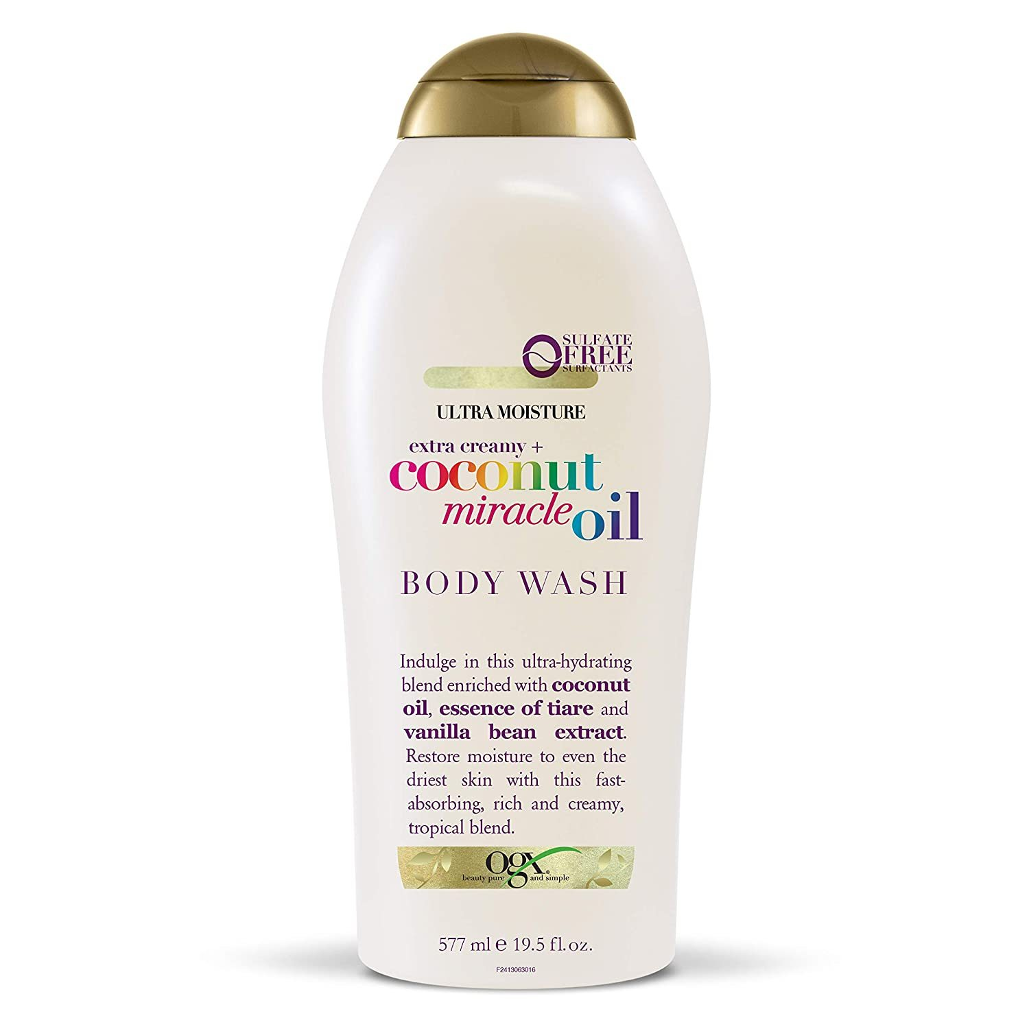 OGX Extra Creamy + Coconut Miracle Oil Ultra Moisture Body Wash, 19.5 Fl Oz - $14.00