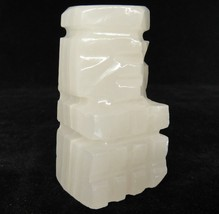 Marble Pawn Chess Piece White Stone Hand Carved Chess Man 2.5/""