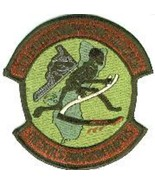 """4"""" USAF AIR FORCE 13TH EXPEDITIONARY BOMB SQUAD SUBDUED EMBROIDERED JACK... - $18.99"""