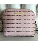 Steve Madden handbag BMarilyn Stripe Logo Crossbody Steve Madden Blush New - $47.50