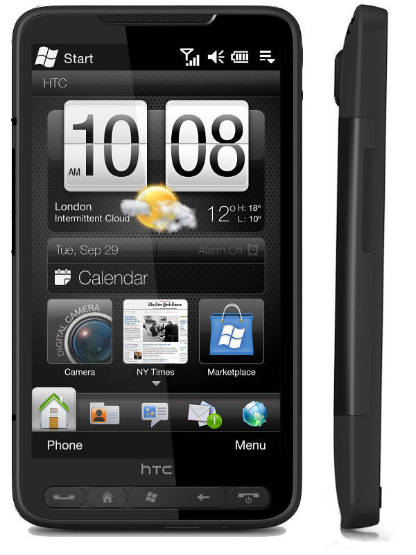 unlocked htc hd2 t8585 black Smartphone mobile phone cell phone windows mobile