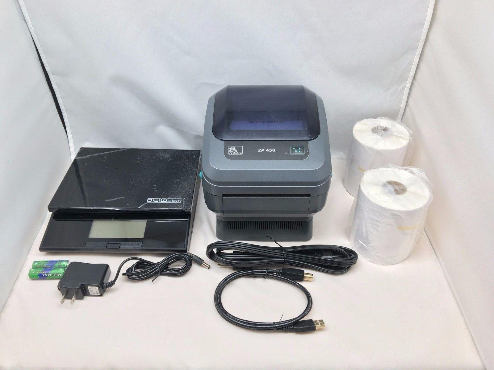 Zebra ZP450 Barcode Printer Digital Postal and 50 similar items