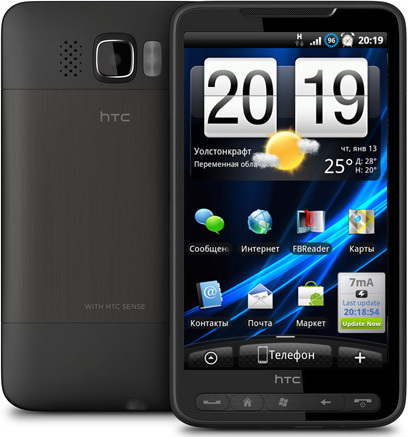 Htc hd2 android