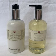 NIP 2 Crabtree & Evelyn Caribbean Island And Wild Flowers Lotion Soap 10... - $37.39