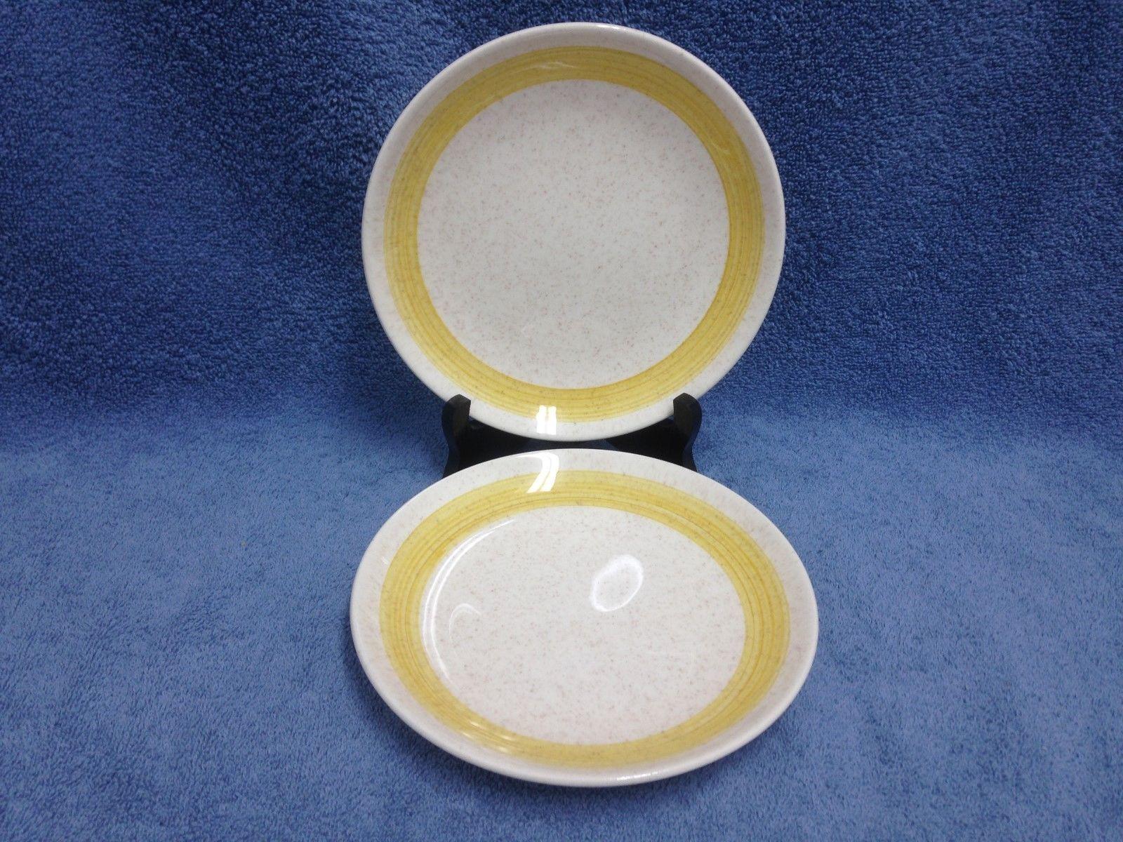Canonsburg Pottery Co. U.S.A Sunbeam 409 Yellow (2) 7