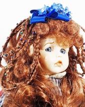 Doll Red Braids Beads Blue Eyes Boyd's Polyresin + Free Toy (B16B28) - $59.99