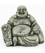 Happy Buddha Concrete Statue  - $49.00