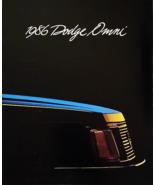 1986 Dodge OMNI sales brochure catalog US 86 SE GLH Shelby - $8.00