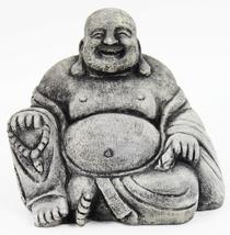 Happy Buddha Concrete Statue - $54.00