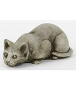 Crouching Cat Concrete Statue - $46.00