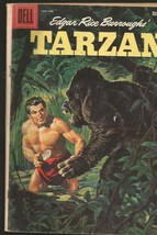 TARZAN #116 DELL COMICS 2nd Story has great art. Painted Cover 1960 -1st print - $14.95