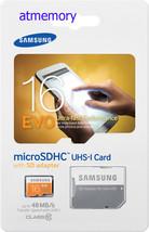Samsung EVO 16GB Micro SD SDHC SDXC lot UHS-I C10 Memory Card - $7.69