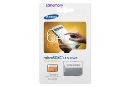 Samsung EVO 64GB Micro SD SDHC SDXC lot UHS-I C10 Memory Card - $23.08