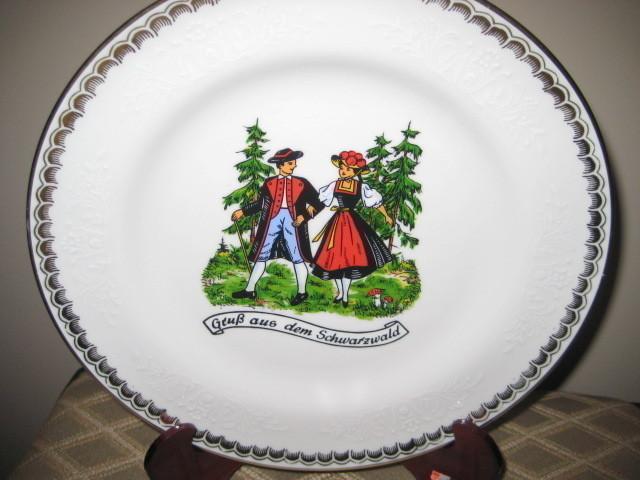 Collector Plate SCHERZER BAVARIA GERMANY