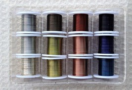 Enamel Coated WIRE Mix ~  12 Colors of Copper Wire 25 ga x 9 ft = 108 fe... - $8.00