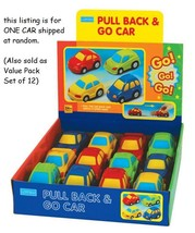 Megcos Toys PULL BACK & GO CAR 1 CAR (Colors May Vary) ~NEW~ - $6.29