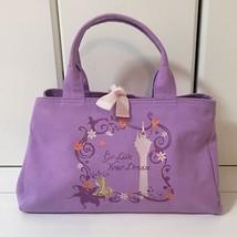 Disney Jewelna Rose Rapunzel Tote Bag Purple,lavender NOS FS JAPAN  - $155.43