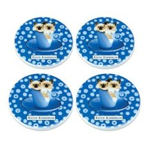 Keith Kimberlin Kitty Coasters - Retired - $15.00