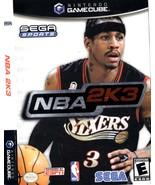 NBA 2K3 (Nintendo GameCube) Complete  - $9.95