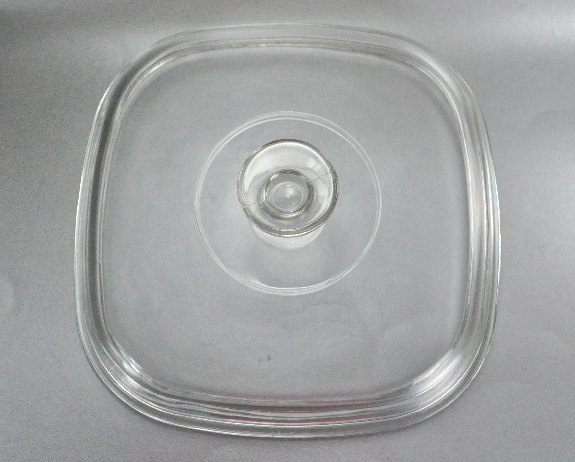 Pyrex Large A 12 C Clear Glass Square Casserole Lid Cover