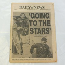 Daily News April 15 1981 Orbit Shuttle Going to the Stars NASA Space 8D - $39.99