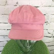 Betmar NY Womens One Sz Hat Pink Retro Newsboy Stretch Back Cabbie Condu... - ₨1,381.83 INR