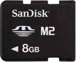 SanDisk 8GB M2 Micro Memory Stick Card MS-A8GN - $8.45