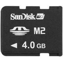 SanDisk 4GB M2 Micro Memory Stick Card MS-A4GN - $6.14