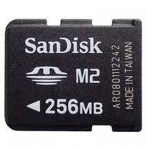 SanDisk 256MB M2 Micro Memory Stick Card MS-A256MN - $4.70