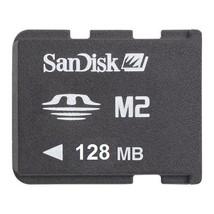 SanDisk 128MB M2 Micro Memory Stick Card MS-A128MN - $4.21