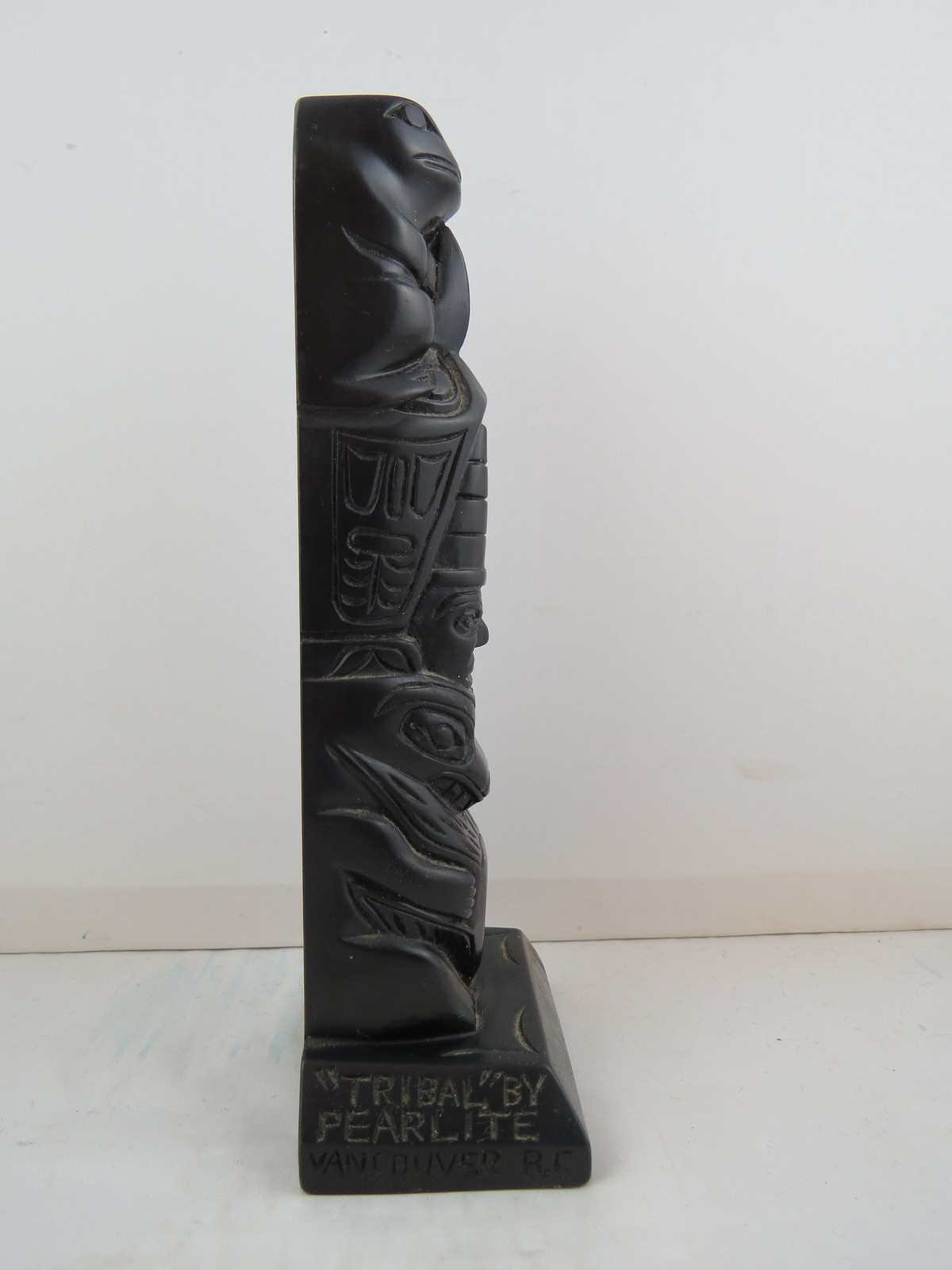 """Vintage Totem Pole - """"Tribal"""" by Pearlite - Feauting 4 Totems - Resin Cast"""