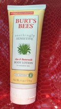 Burts Bees Body Lotion Soothingly Sensitive Aloe Buttermilk - $7.69